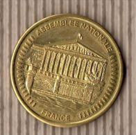 AMMF - Médaille Souvenirs  Assemblée Nationale (revers Lis2) - Tourist