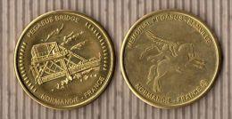 """AMMF - Médaille Souvenirs  """"Pégasus Bridge"""" Revers Spécial - Tourist"""