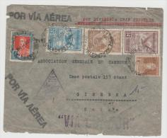 Arg043/  ARGENTINIEN - Graf Zeppelin, Erstflug 30.6.34. Argentinische Post In Die Schweiz - Argentinien