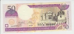 Dominicana 50 Pesos 2000 Pick 161 UNC - República Dominicana