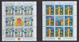 Europa Cept 2000 Bosnia Herzegovina Serbia 2v Sheetlets ** Mnh (23158A) - 2000