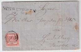 "Baden, Brief , "" Schwetzingen ""  , #2709 - Baden"
