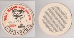 Elbhangfest , 1996 , Feldschlößchen , Wolf Maahn Libero Tour 95/96 - Beer Mats