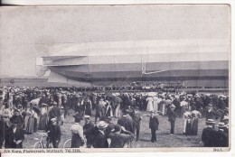 STUTTGART (Allemagne) ZEPPELIN Luftschiff 2 Min. Vor Der Katastrophe 1908-DIRIGEABLE-Aviation--VOIR 2 SCANS - - Dirigibili