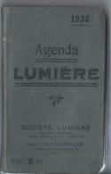 Agenda Lumiére/Société LUMIERE/Paris-Lyon/Gauthier-Villars /1935      PHOTN1 - Unclassified
