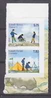 Europa Cept 2007 Greenland 2v Self Adhesive From Booklet  ** Mnh (23162AB) - 2007