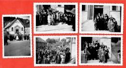 PHOTO Photographie Amateur (LOT De 5) Temple Du Culte ANTOINISTE à 27 BERNAY Eure * Religion Spiritisme - Lieux