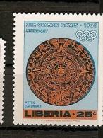 Libéria ** &  XIX Jogos Olimpicos Do México 1967 (681) - Summer 1968: Mexico City