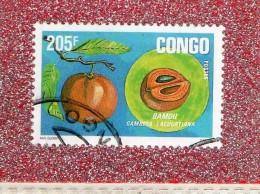 REP.   DU  CONGO  --  LE  BAMOU   --  **  205 F. ** --   POSTE  1994  --  TBE - Used