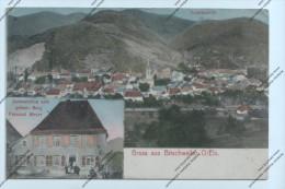 CPA 68 : Gruss Aus Bitschweiler O/Els - Restauration Zum Grünen Berg Fernad Meyer - Totalansicht - Unclassified