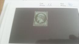 LOT 266350 TIMBRE DE FRANCE OBLITERE N�11 VALEUR 90 EUROS