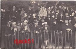 CARTE PHOTO Dans Les Jardins Albert 1er, Nice - 1934 / 2 Scans - Photographie
