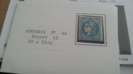 LOT 266394 TIMBRE DE FRANCE OBLITERE N�46B