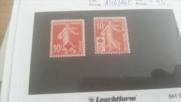 LOT 266418 TIMBRE DE FRANCE NEUF* N�146/147 VALEUR 46 EUROS