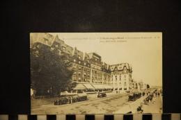 CP, 44, LA BAULE SUR MER L'Hermitage Hotel Et Les Nouveaux Boulevards     N°11  Edition AB - La Baule-Escoublac