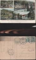 903) Mittweida In Sachsen, Lauenhainer Mühle  VIAGGIATA 1912 Herrliches Idyll Im Zschopautal - Mittweida