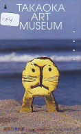 Télécarte Japon * MUSEUM  ART *  MUSÉE * Museum (124) Japan Phonecard * - Japan