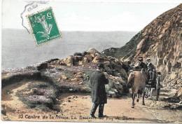AUVERGNE - CPA COLORISEE Des Ruines Du Temple De Mercure Et La Chaine Des Sommets - ENCH33 - - Auvergne