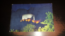 C-41104 CASTELLI VALDOSTANI VERRES PANORAMA CASTELLO NOTTURNO - Aosta