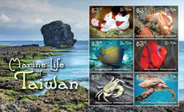 St. Kitts-2015-Marine Life-Fishes Of Taiwain - Vissen