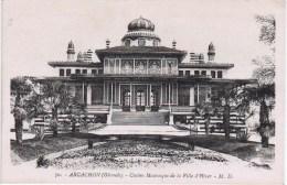 Cpa ARCACHON Casino Mauresque De La Ville D Hiver - Arcachon