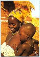 CPM - Republique Haute Volta (Burkina Faso) - Jeune Maman - Photographies J.C. NOURAULT - Burkina Faso