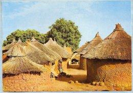 CPM - Republique Haute Volta (Burkina Faso) - Vilage De Haute Volta - Photographies J.C. NOURAULT - Burkina Faso