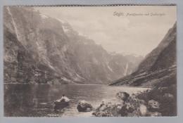 AK Norwegen SOGN 1941-07-06Udvar Fjord Foto Svanoi Bergen Eneberettiget - Norvège