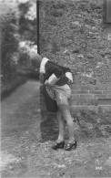 Nu - Serie De 4 Cartes Photos - Femme En Dessous Légers Porte Jartelles - Nue Nude érotisme érotique Seins Nus - Desnudos Adultos (< 1960)