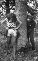 Nu - Serie De 3 Cartes Photos - Femme En Dessous Légers Et Homme - Porte Jartelles Nue Nude érotisme érotique Seins Nus - Desnudos Adultos (< 1960)