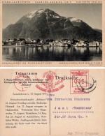 "AANDALSNAES - NORWEGENFAHRT : HAPAG SHIP / PAQUEBOT "" RELIANCE "" / HAMBURG - AMERIKA LINIE To IASI - 25 AUG 1937 (s-501) - Norvège"