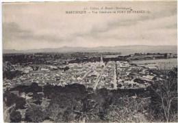Cpa  MARTINIQUE Vue Generale De Fort De France - Fort De France