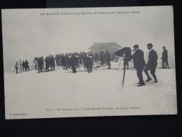 """""""La Journée D´Hiver Du Ballon D´Alsace (20 Février 1910) -  A Voir -  Lot 8125 - Winter Sports"""