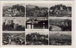 SALZBURG -   Mehrfachansicht Von 1939,  Gel. Von Morzg , Echtes Foto - Salzburg Stadt