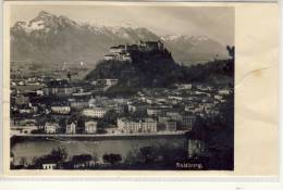 SALZBURG -  Panorama Mit Burg Hohensalzburg ,  1942 - Salzburg Stadt