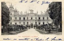 77 FERRIERES En BRIE Propriété Rotschild  Le Chateau Carte Précurseur REP Et FILLIETTE N0 840 - Other Municipalities