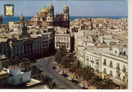 CADIZ - Plaza De San Juan De Dios Y Ayuntamiento,   1963 - Cádiz