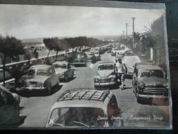 Santa Severa Lungomare PIRGI Con Dettagli Auto Usata 1961 - Altre Città