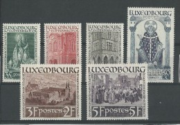 LUXEMBOURG - YVERT N°300/305 * MLH  - COTE = 25 EUROS - Neufs