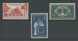 LUXEMBOURG - YVERT N°511/513 **  - COTE = 75 EUROS - Luxemburg