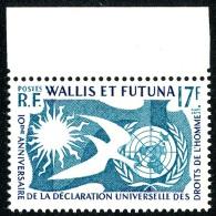 WALLIS ET FUTUNA 1958 - Yv. 160 ** TB Bdf Variétés  Cote= 4,70 EUR - Déclaration Des Droits De L'Homme ..Réf.W&F2163 - Wallis And Futuna