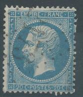 Lot N°30220   Variété/n°22, Oblit GC 2173 MAISONS-S-SEINE (72), Ind 4, Filet NORD - 1862 Napoleon III