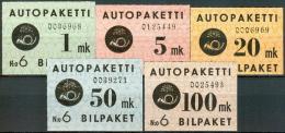 FINLAND 1949 Autopaketti PF-MNH-NEUF