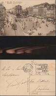 914) BRUXELLES PLACE DE BROUCKERE VIAGGIATA 1929 - Bruxelles (Città)