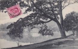 D CPA ASIE SRI LANKA CEYLON CEYLAN 1910 KANDY LAKE - Sri Lanka (Ceylon)