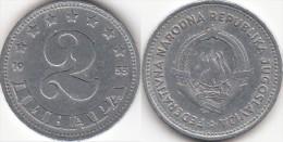 Yugoslavia 2 Dinari 1953 Km#31 - Used - Joegoslavië