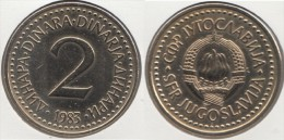 Yugoslavia 2 Dinari 1983 Km#87 - Used - Yugoslavia