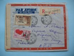 Lettre De Diego Suarez à Fort Lamy 2 Juin  1944  (ou 20 Juin) - Madagascar (1889-1960)
