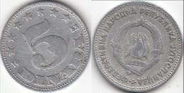 Yugoslavia 5 Dinari 1953 Km#32 - Used - Yugoslavia