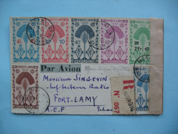 Lettre De Moroni (Madagascar) à Fort Lamy - 2 Mai 1945 - Madagascar (1889-1960)